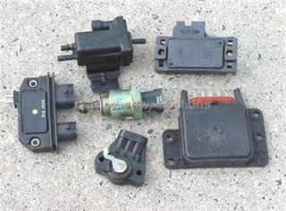 6pc Set of Chevy GMC Truck Van TBI Sensors 87 90 TPS