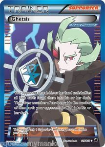Pokemon Card Plasma Freeze Ultra RARE Holo Ghetsis Full Art Mint