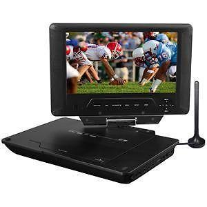 "Envizen 9"" Portable TV DVD Player w Built in Tuner Travel Entertainment ED8890A"