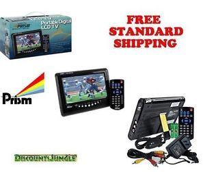 Digital Prism Portable Digital LCD TV 7 inch ATSC 710 R