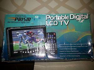 Prism Portable Digital TV 7 5 inch New
