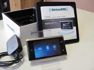 SiriusXM SXI1 Lynx Wi Fi Enabled Portable Radio Kit