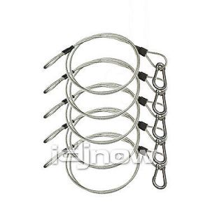 Chauvet CH 05 31 inch DJ Lighting Truss Teel Safety Equipment Cable 5 Pack