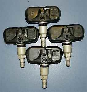 07 11 Camry Avalon 4 Tire Pressure Sensors Set TPMS