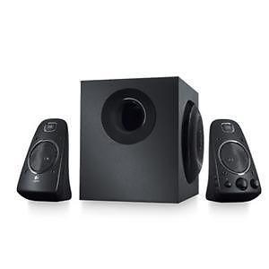 Logitech Z623 2 1 Speaker System Subwoofer 200 Watt RMS RCA Audio Refurbished