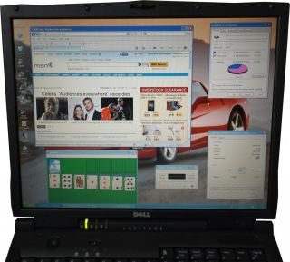 "Sale Cheap Dell Latitude Wireless XP Pro Laptop Notebook Computer WiFi 15"" DVD"