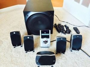 Logitech Z 5500 Digital Surround Sound Speaker System