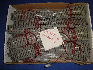 Kato HO Track Switches Accessories Lot 100's of Pieces Used Free Shipping 10 PIX