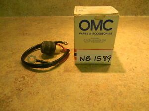 Johnson Evinrude OMC 1980 1987 Start Switch New in Box 20 25 30 35 NB1589