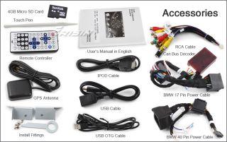 "ES1046MO 7"" HD Car DVD Player GPS iPod TV WiFi 3G RMVB BMW 3 E46 M3"
