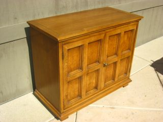 Vintage Spanish Syle Side Board Credenza Buffet Side Table Bar Cabinet