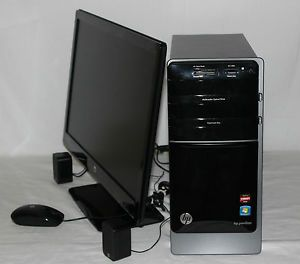 "HP Pavilion P7 1003W 1TB Win7 3 2 GHz 8 GB Desktop Computer w 23"" Monitor"