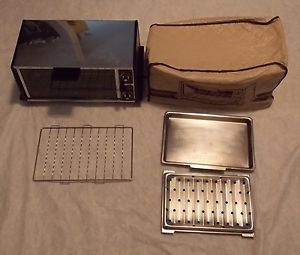 General Electric GE Toast N Broil A4T50 Toaster Oven Continuous Cleaning Vtg