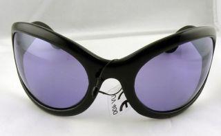 Oversize Purple Sunglasses Goth Vamp Punk Metal Psychobilly Bono U2 DJ PON3 Club