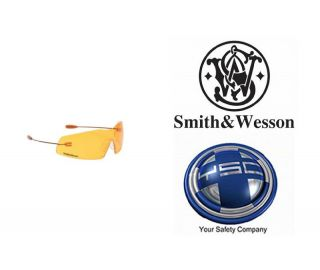 Smith Wesson Phantom Safety Glasses Copper Frame Orange Lens 19852