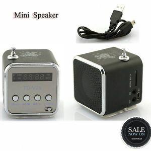 Unique Micro SD TF USB Mini Speaker Music Player Portable FM Radio Stereo PC