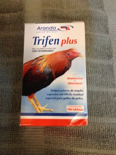 Gamefowl Dewormer Trifen Plus 100 Tablets