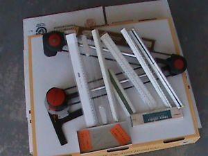 "RH 18"" Vemco 3500 Detailer Drafting Machine Tool Scales 07 Triangulars Arms"