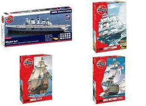 Airfix Kit Large Boats and Ships Various Scales and Models Plastic Model Kits