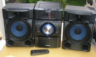 Sony 360W Mini Shelf Stereo System with Built in Apple iPod Dock MHC EC709IP