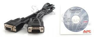 APC Powerchute Business Basic and 9 Pin Cable 940 0024C CD 991 2000J