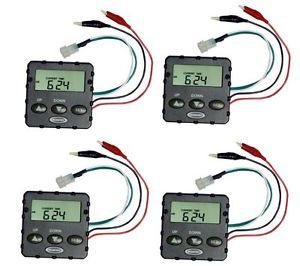 4 Moultrie MFH UDT 6V Universal Digital Replacement Timers Deer Hog Feeders