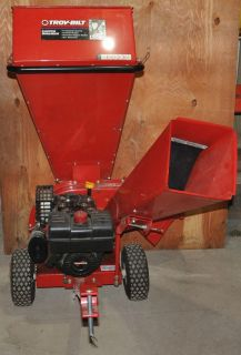Troy Built 2 in 1 Heavy Duty Wood Chipper Shredder 3 Inch