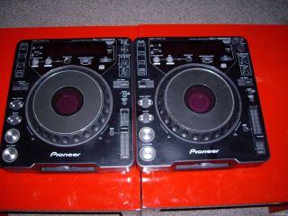 Pioneer CDJ 1000 MK2 DJ Turntables Pair