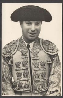 R Photo Pepe Luis Vazquez Spanish Bullfighter Postcard L K