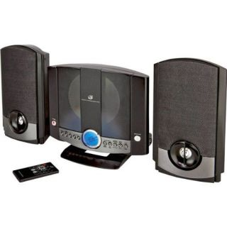 GPX HM3817DT Am FM Radio CD Player Stereo Shelf System Speakers