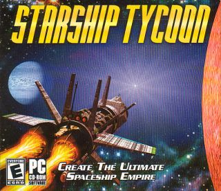 Starship Tycoon Star SHIP Simulation PC Game New in Box 710425215940