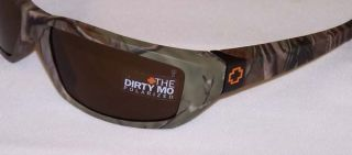 Spy Sunglasses Dirty MO Earnhardt Real Tree Camo Bronze Polarized DVRT3N New