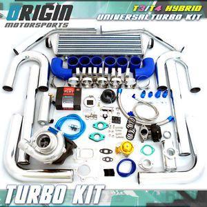 T3 T4 Hybrid T04E Universal Turbine Turbo Charger Kit