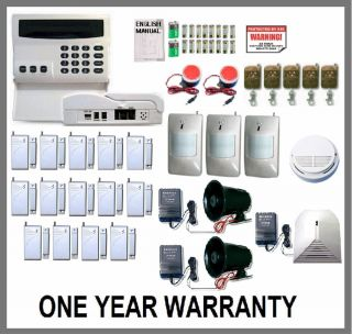 Wireless Home Security System House Alarm Auto Dialer CX 3 Sirens Very Loud New