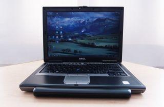 Wireless Dell Latitude D630 Laptop 2GB Memory Win7 80GB Hard Drive Office 2010