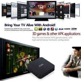 Google Android 4 2 Smart Internet WiFi TV Box Media Player HD 1080p 1 5GHz 8GB