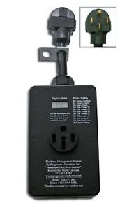 50 Amp Portable Surge Protector EMS PT50C for RV Travel Trailers Motorhomes