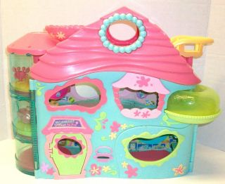 Biggest Littlest Pet Shop Retired House Accessories Dog Pets Virtual Game Lot