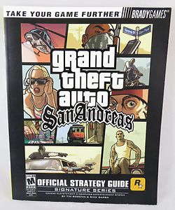 Brady Games Grand Theft Auto GTA San Andreas Official Strategy Guide