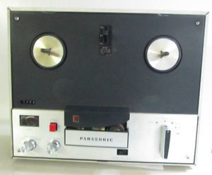 Vintage Panasonic Solid State Reel to Reel Tape Recorder RQ 706s