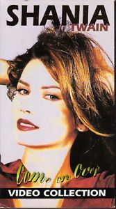 Shania Twain Come on Over Video Collection VHS 1