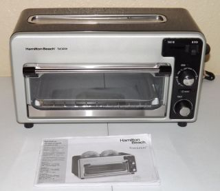 Kitchenaid Countertop Oven Manual : Hamilton Beach Toastation Toaster and Toaster Oven 22720 Manual Nice