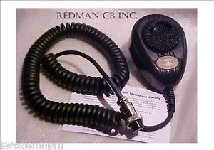 Turner Telex 56 Blk CB Ham Radio Road King Microphone RK56 Wired 6 Pin RCI