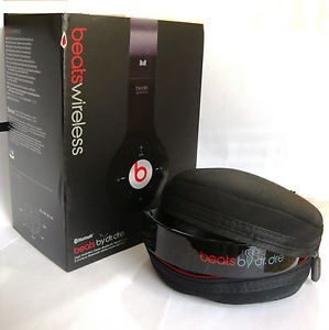 Monster Beats by Dr Dre Wireless Headphones with Bluetooth in Black