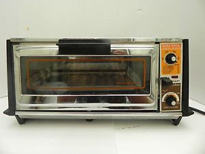 Vintage GE General Electric Toast N Bake Broil Toast R Oven Toaster Oven