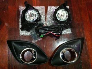 Spot Fog Light Lamp Kit New MAZDA2 Mazda 2 Demio 07 09