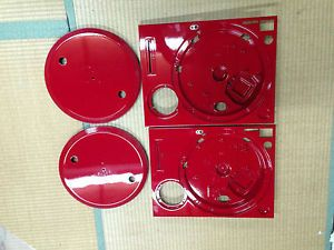 Technics 1200 MK2 Platters and Cabinets Red Paint Customise Your Turntables