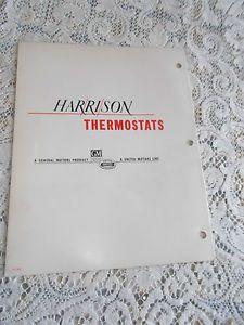 Vtg 1930 52 GM Harrison Thermostats Ford Mopar Chevrolet IH Truck Hudson Catalog