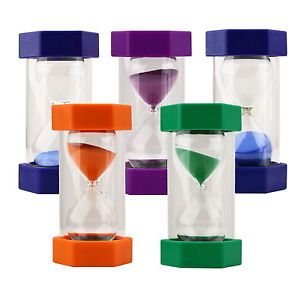 US Stock Security Sand Timer Hourglass Sandglass Kitchen Cooking