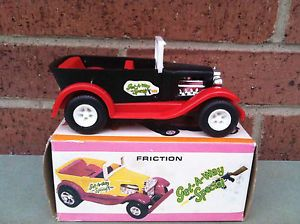 "Vintage Marx Toys Friction Old Timers ""Get A Way Special"" Hot Rod Car New in Box"